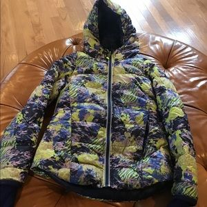 Ivivia girls size 12 winter reversible jacket